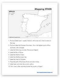learning about spain week 1