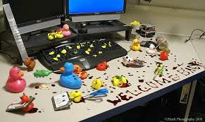 Office Desk Prank The World S Newest Photos Of Duck And Prank Flickr Hive Mind