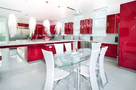 Red Kitchen With White Cabinets 27 Red Kitchen Ideas Cabinets U0026 Decor Pictures Designing Idea