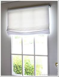 No Sew Roman Shades Instructions - no sew window treatment relaxed roman shades in my own style