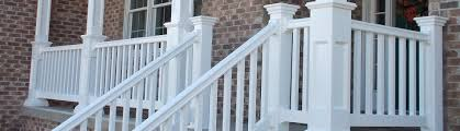 vinyl railing porch deck stair railing systems