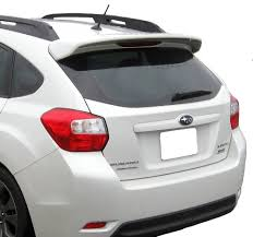 Painted Spoiler For A Subaru Impreza 5 Door Hatchback Factory