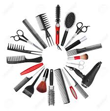 makeup artist tools a collection of tools for professional hair stylist and makeup