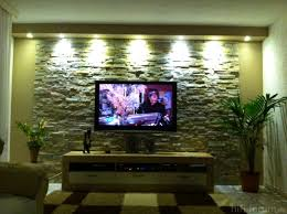 Wohnzimmer Ideen Tv Steinwand Im Wohnzimmer 30 Inspirationen Von Klimex Steinwand