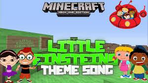 einsteins theme song minecraft xbox noteblock song
