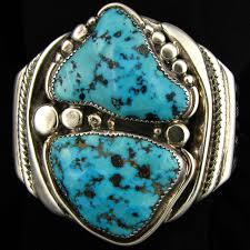 bracelet silver turquoise images Heavy turquoise and silver bracelet orville tsinnie cjjambr18 06 jpg