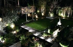 Outdoor Backyard Lighting Ideas Backyard Lighting Ideas Nature Flamboyant Outdoor Landscape