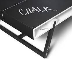 black ping pong table top a ping pong table that s the chalk of the town daily mail online