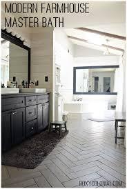 rustic modern farmhouse bath tour kristi s modern farmhouse rustic glam master bathroom makeover