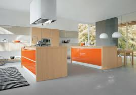 Painting Kitchen Countertops Pictures U0026 Captivating Orange Wall Paint Color Featuring Brown Color Wooden