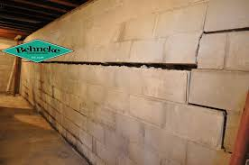 Bowing Basement Wall by Foundation Repair Behncke Construction High Quality Foundation