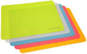 kids placemats thin and portable food silicone placemats for kids