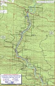State Of Arkansas Map by Cossatot River Corridor Trail Wickes Arkansas Free Detailed Topo Map