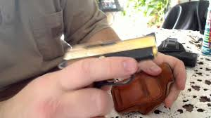 fie titan pocket pistol handgun 25 cal youtube