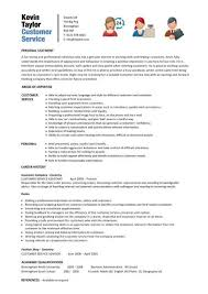 Template For Customer Service Resume Cheerful Customer Service Skills Resume 8 Exles Cv Resume Ideas