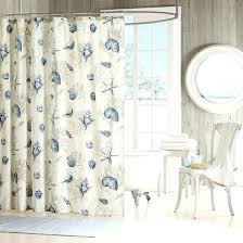 Turquoise Bathroom Accessories by Beach Shower Curtains Bath Accessories Beach Scene Shower Curtains