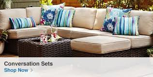 Patio Furniture Cushions Lowes by Shop Patio Furniture At Lowes Com