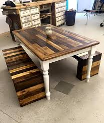 Dining Room Bench Sets Best 25 Pallet Dining Tables Ideas On Pinterest Table And Bench