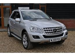 used mercedes m class uk used 2009 mercedes m class 3 0 ml280 cdi sport 7g tronic 5dr