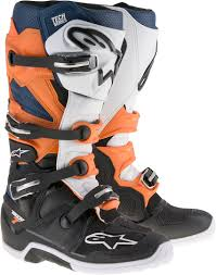 black motocross boots alpinestars tech air street alpinestars tech 7 boot motocross