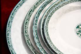 different size plates on sale royalty free stock photo image