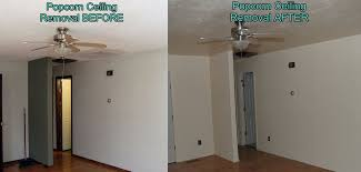 Removing Cottage Cheese Ceiling by Popcorn Ceiling Removal