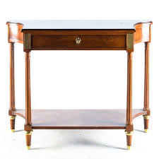 vintage style console table vintage federal style console table by baker furniture ebth