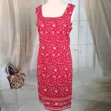faded glory faded glory red bandana summer dress from kaki jo u0027s