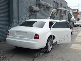chrysler rolls royce toplimo new york coach builders exotic limousine conversion