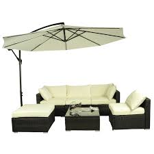 outsunny patio furniture assembly luxury outsunny 6pc patio rattan