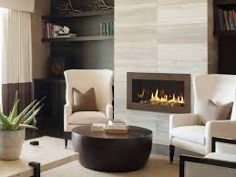 more modern gas fireplace middle reception room remove
