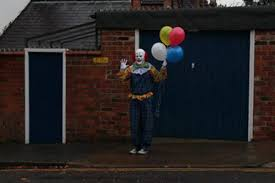 halloween horror nights behind the scenes scary clown film u0027behind the sightings u0027 is ripped from the