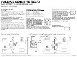 voltage sensitive relays the hull boating and fishing forum