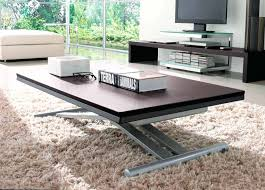 from coffee table to dining table trendy folding coffee table natural birch folding coffee table