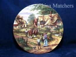 wedgwood country days ploughing limited edition
