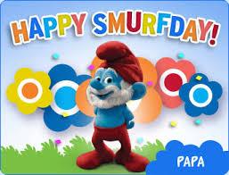 smurfs birthday ecard