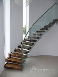 Glass Banister Uk Timber Staircases Feature Timber Staircase Design U0026 Installation