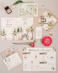 unique wedding invitations 29 ideas for unique wedding invitations martha stewart weddings