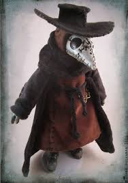 plague doctor hat sititch plague doctor doll by bezzalair on deviantart