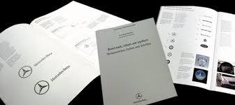 mercedes corporate mercedes audi bmw corporate identity analysis
