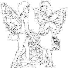 coloring coloring fairies
