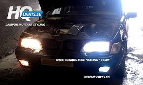 h3 mtec h3 cosmos blue white halogen bulbs racing 100w 4750k