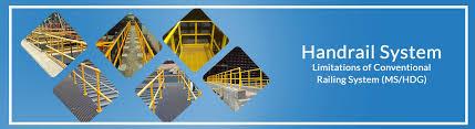 Fiberglass Handrail Frp Handrail Fiberglass Handrail U0026 Frp Railing System Arhamcomposite
