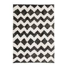 natural u0026 charcoal deville shag carpet madeline weinrib