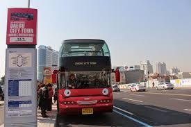 Double Decker Bus Floor Plan Fun U0026 Free Daegu Travel Daegu City Tour Bus Open Top Hop On