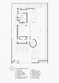 Spiral Staircase Floor Plan Origami House By Formwerkz Architects
