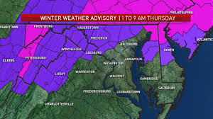 Montgomery County Snow Removal Map Snow Forecast For Dc Area Wtop