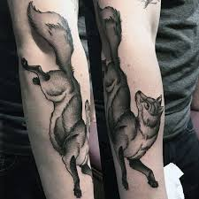 fox tattoo designs for men sly ink inspiration