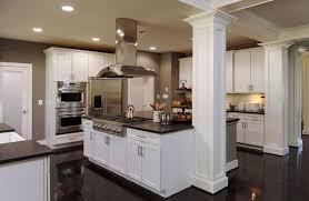 20 beautiful kitchen islands with kitchens with columns kitchen design ideas