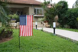 American Flag On Ground Amazon Com Garden Flag Set With American Flag By Greenwer Sturdy